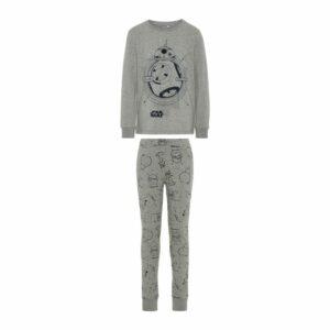 name it NKMSTARWARS pyjamasetti, Grey Melange