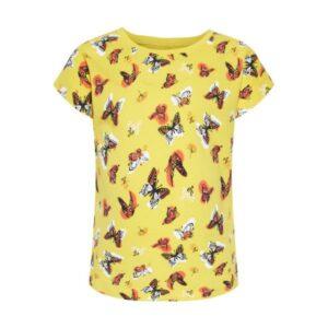 NAME IT NMFVIGGA tyttöjen t-paita, Primrose Yellow