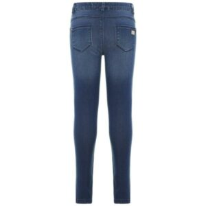 name it NKFPOLLY 3113 farkkulegging, Dark Blue Denim