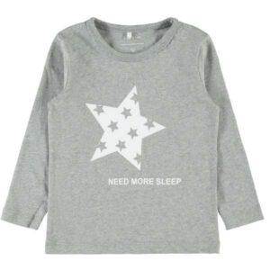 name it NMMRAMISTO pienten poikien pyjama, Grey Melange