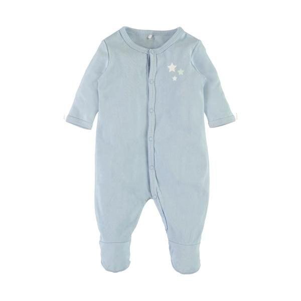 name it NBMNIGHTSUIT vauvojen yöhaalari, 2 pakkaus, Cashmere Blue