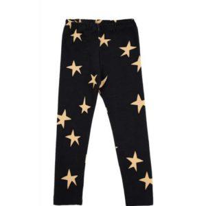 DEAR SOPHIE tähti leggingsit, Black