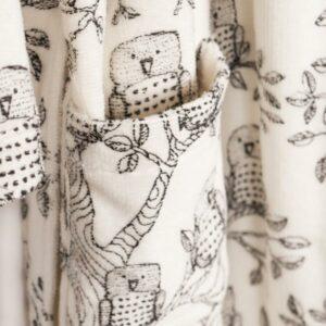 AARRE KID pöllökylpytakki, Owls