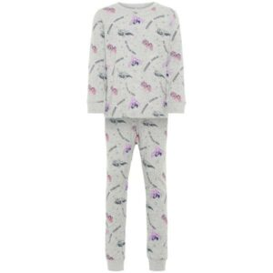 NAME IT NMFMLP pyjama, Grey Melange