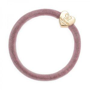 BY ELOISE pompula Heart Gold, Velvet Champagne Pink