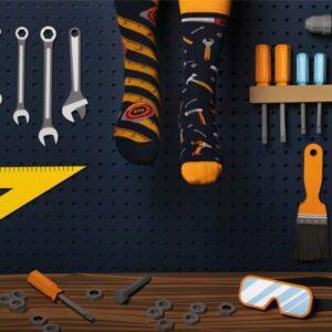 MANY MORNINGS aikuisten eriparisukat, Työkalut