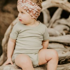 KAIKO Knot Headband, Copper Bambi