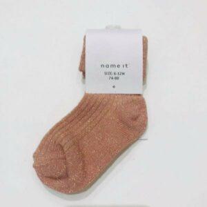 NAME IT NBFROSIN vauvan kimaltavat sukat, Deauville Mauve