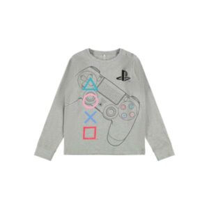 NAME IT NKMPLAYSTATION OLOF pyjamasetti, Grey Melange