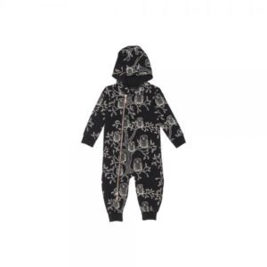 AARRE KID DREW jumpsuit, Owls Black