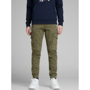JACK & JONES JJIPAUL JJFLAKE 542 reisitaskuhousut, Olive Night