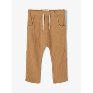 Lil'Atelier NMMSILVESTER housut, Tobacco Brown