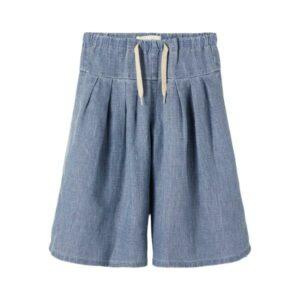 LIL' ATELIER NMFSALLY 2402 culotte-housut, Meduim Blue Denim