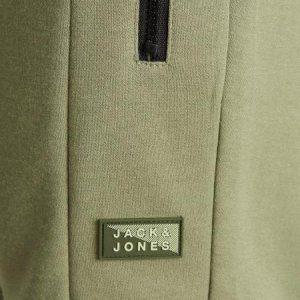JACK & JONES collegeshortsit, Oil Green