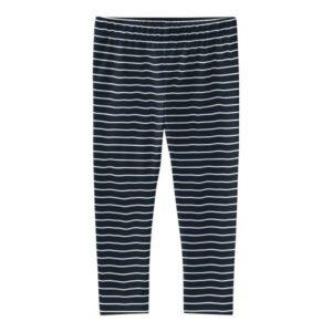 NAME IT NMFVIVIAN pienten leggingsit, Dark Sapphire/Stripes