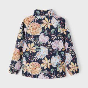 NAME IT NKFALFA WINTER FLOWER softshell-takki ENNAKKOTILAUS, Dark Sapphire