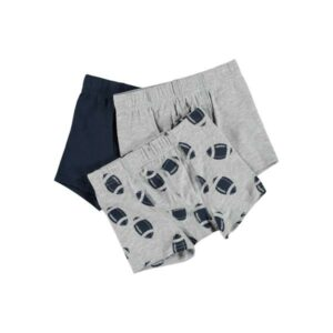 NAME IT NMMMTIGHTS RUGBY boxerit, Grey Melange