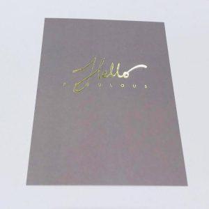 ANNIKA VÄLIMÄKI kortti, Hello Fabulous