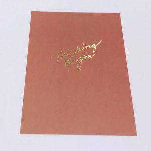 ANNIKA VÄLIMÄKI kortti, Thinking of you