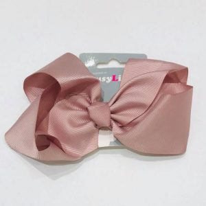 BUSY LIZZIE 301156 rusettipinni, Dusty Pink