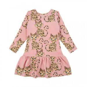 DEAR SOPHIE GEPARD DRESS collegemekko, Pink