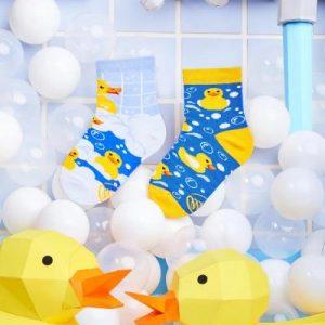 MANY MORNINGS lasten eriparisukat, Bath Ducks